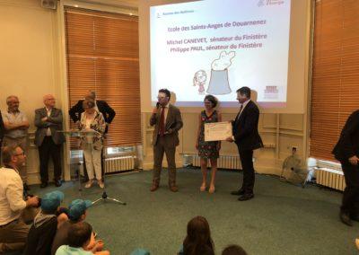 Douarnene vainqueur du concours ecoloustics SDEF 4