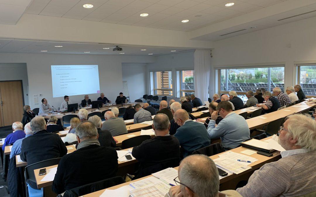 Comité syndical du SDEF. Salle comble pour le dernier de l'année