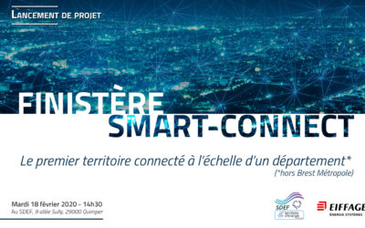 Lancement de Finistère Smart-connect, le premier territoire connecté à l'échelle d'un département