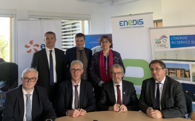 Signature des nouveaux contrats de concession SDEF