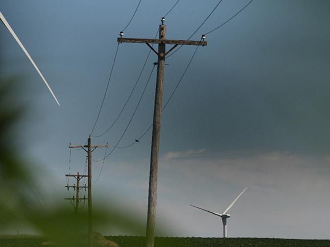 réseaux electrique finistere eolien