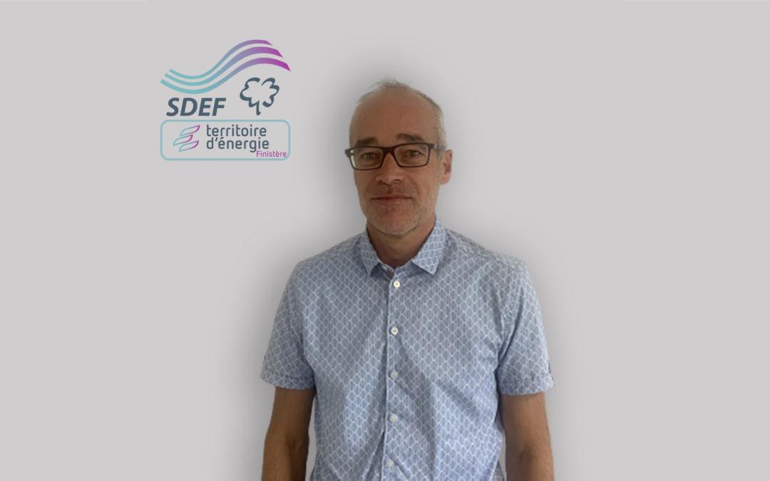 Yannick MAZE, nouveau économe de flux au SDEF