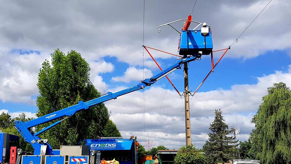 Modernisation du réseau de distribution d'électricité à Landerneau