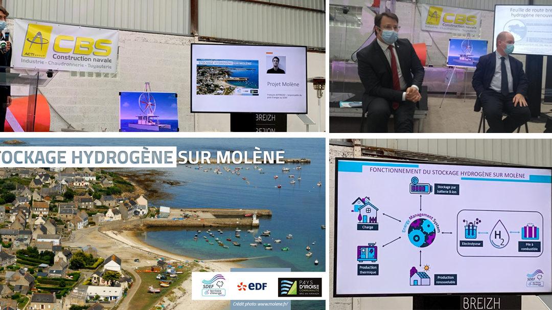 La région Bretagne lance sa feuille de route pour le déploiement de l'hydrogène renouvelable