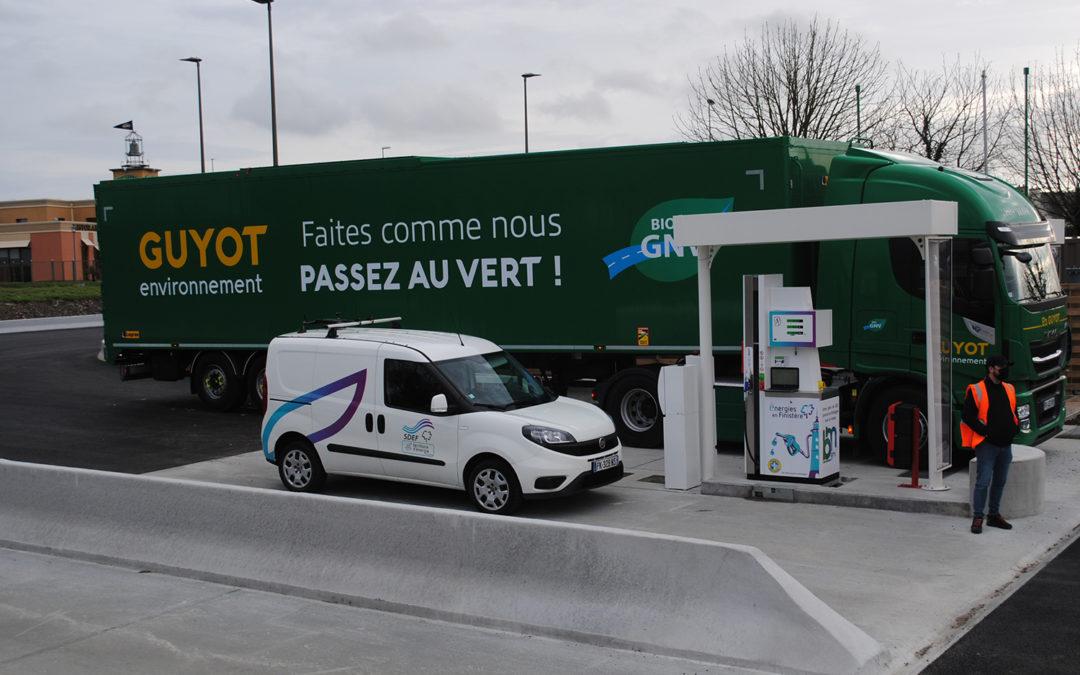 Station biognv de saint-Martin-des-Champs : Essais de fonctionnement réussis