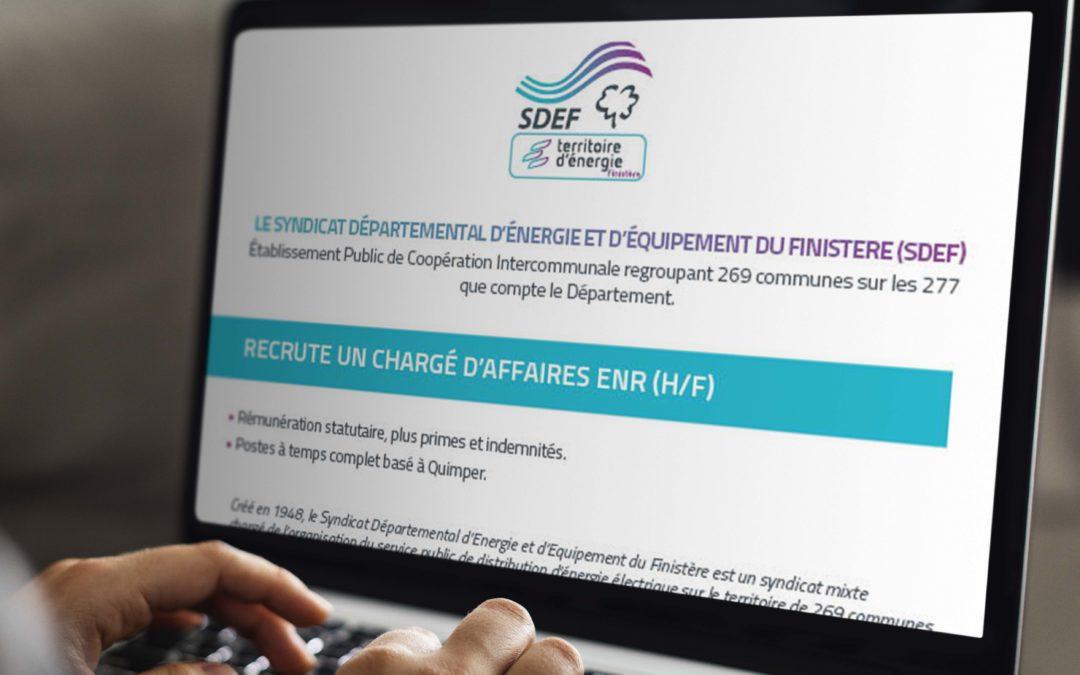 Offre d'emploi chargé d'affaires EnR (h/f)